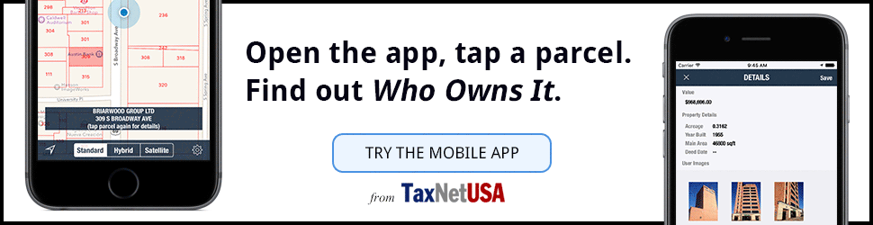 Who Owns It? The new mobile app from TaxNetUSA
