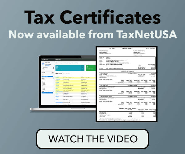 TaxNetUSA - Automated Tax Certificates