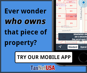 Search, Display and Print Property Maps and Records