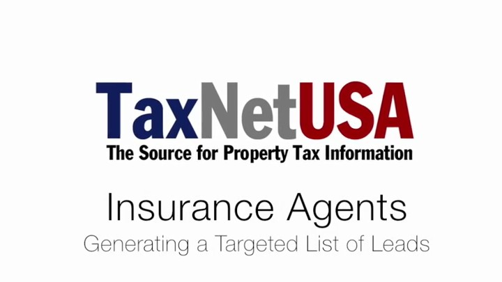 Insurance Agents - Generating Leads with TaxNetUSA
